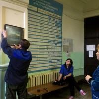 КАРТИНЫ В ДАР ПОЛИКЛИНИКЕ № 2, г. ТУТАЕВ — ЛЕВАЯ СТОРОНА